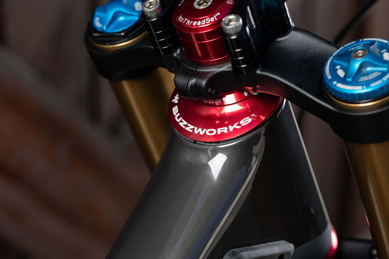 Greg Minnaar Bike Check - 2020 Santa Cruz V10 Downhill Mountain bIke