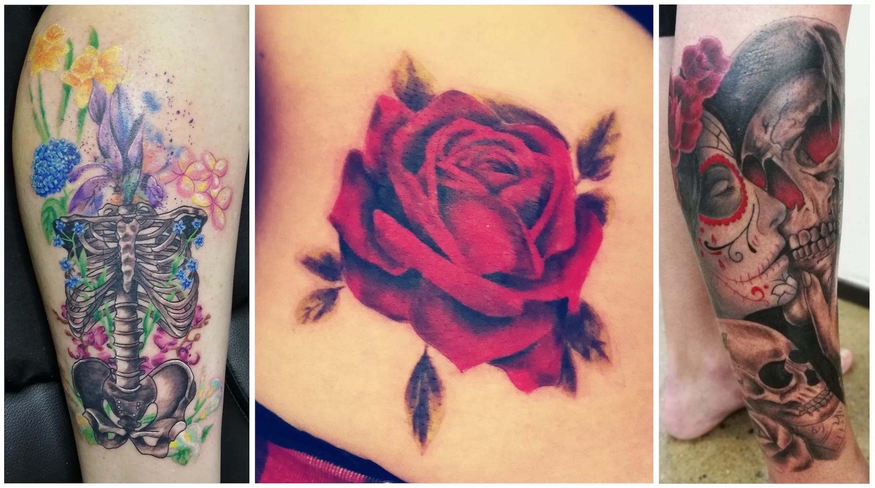 A selection of tattoos by Sheldon Shaw
