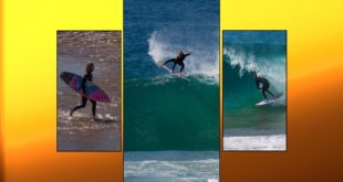 Get your surfing fix with Lost team rider and High Performance Surf Academy head coach, Chad Du Toit, lighting up the south coast before lockdown -Not Laguna Beach.