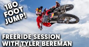Back in 2018,Tyler Bereman visited thedream motocross facility -Moto SandBox - and made it his Freeride Playground.