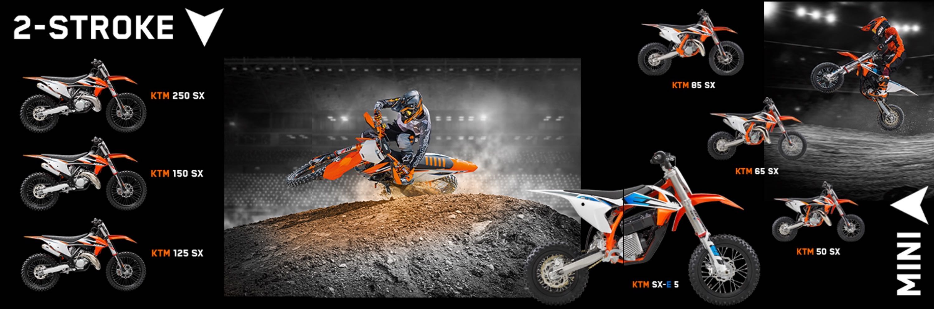 Introducing the 2021 KTM 2 Stroke and Mini Motocross Range