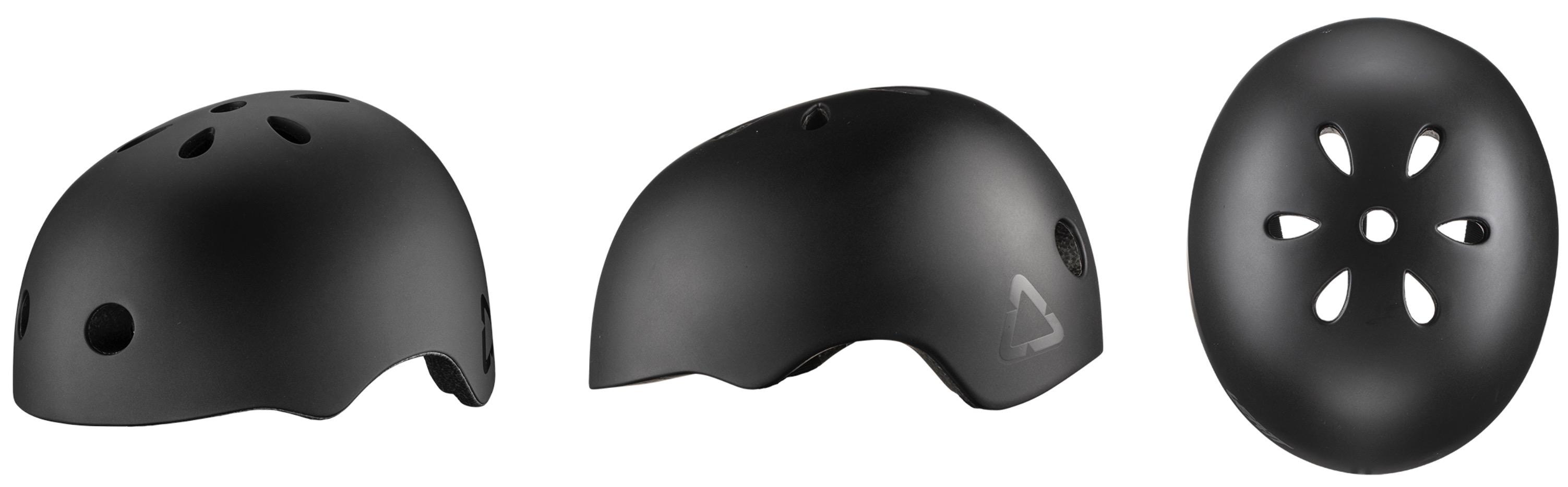 Leatt 1.0 Urban Helmet in Black