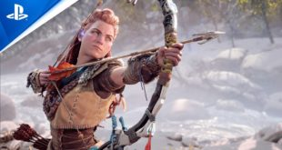 Horizon Forbidden West continues Aloy's story as she moves west to a far-future America to brave a majestic, but dangerous frontier where she'll face awe-inspiring machines and mysterious new threats. Coming to PlayStation 5.