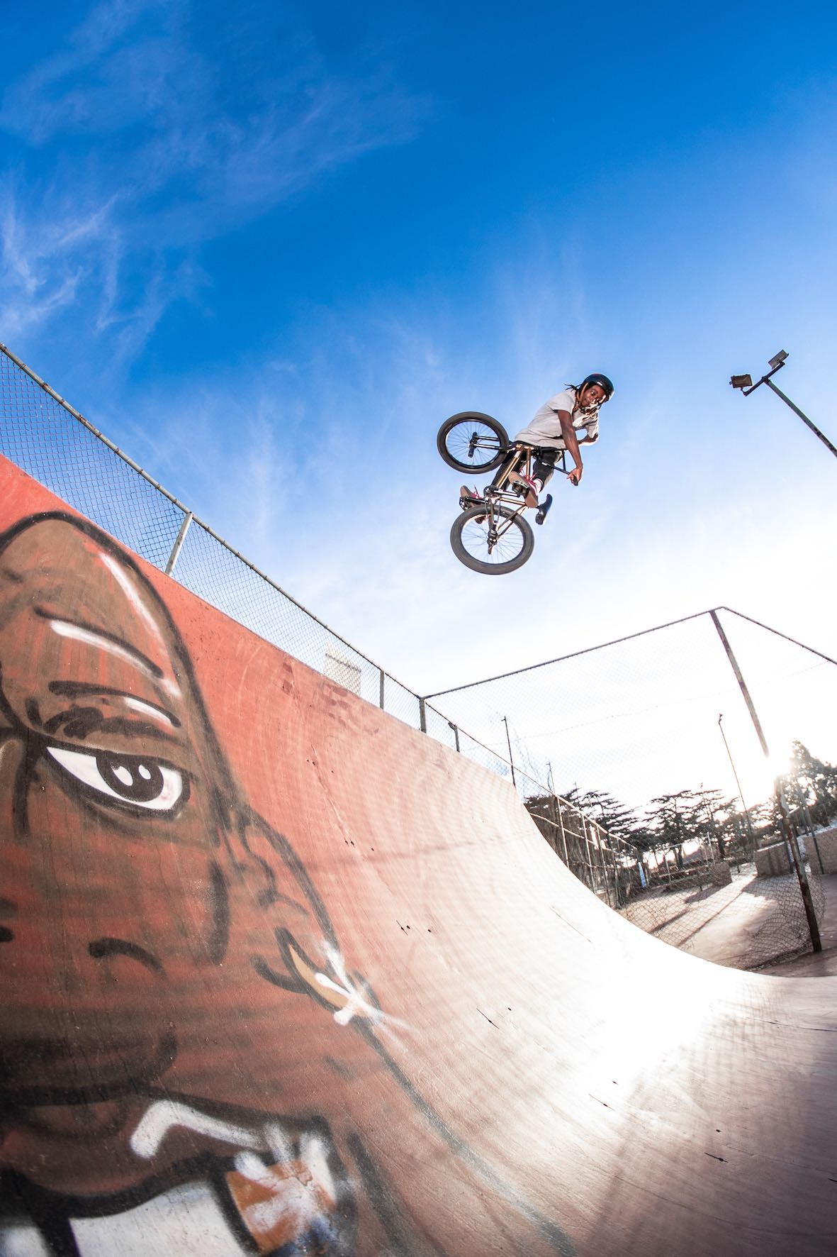 BMX video feature with Nathi Steeze