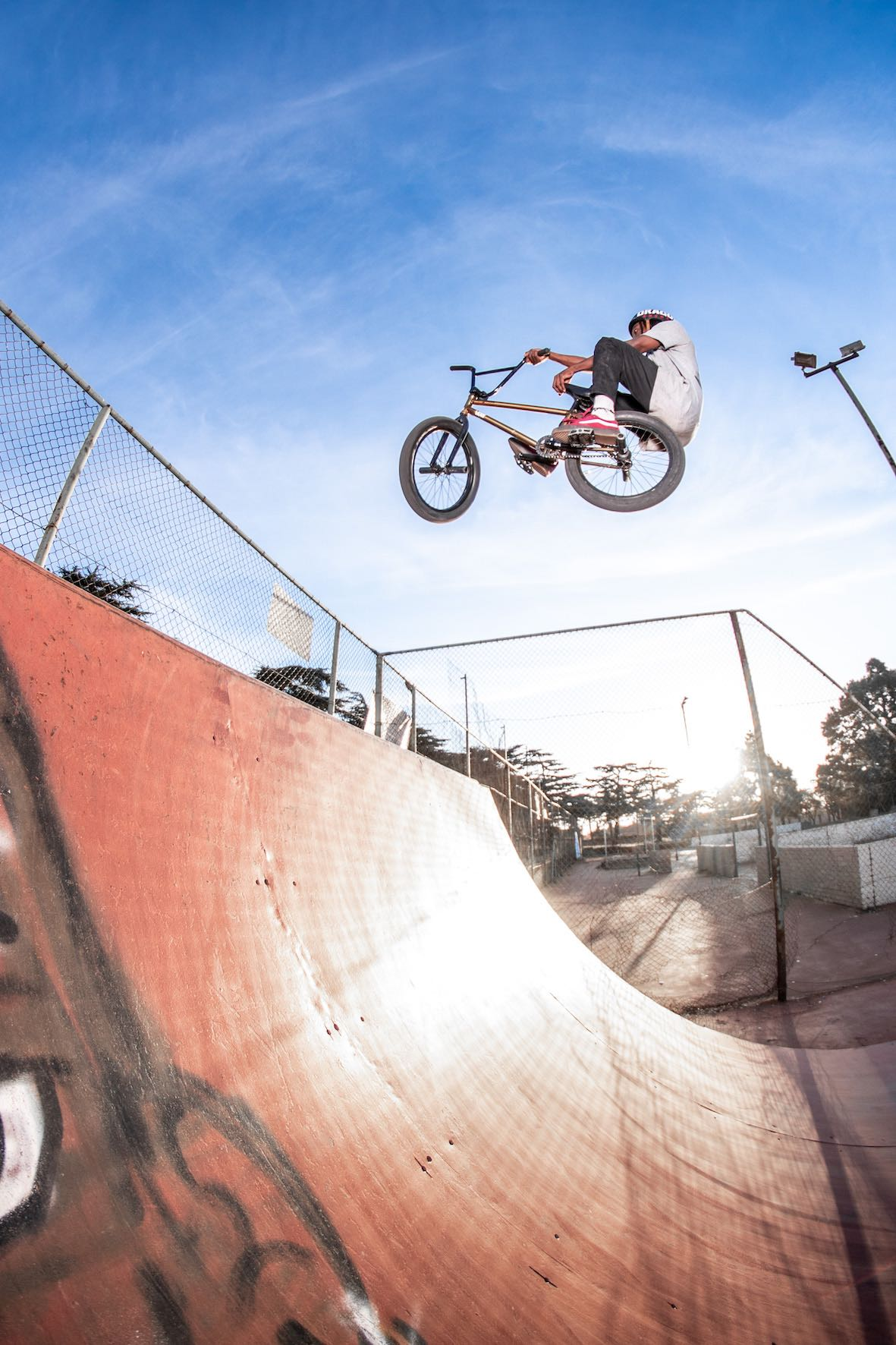 We talks BMX and events with Nathi Steeze