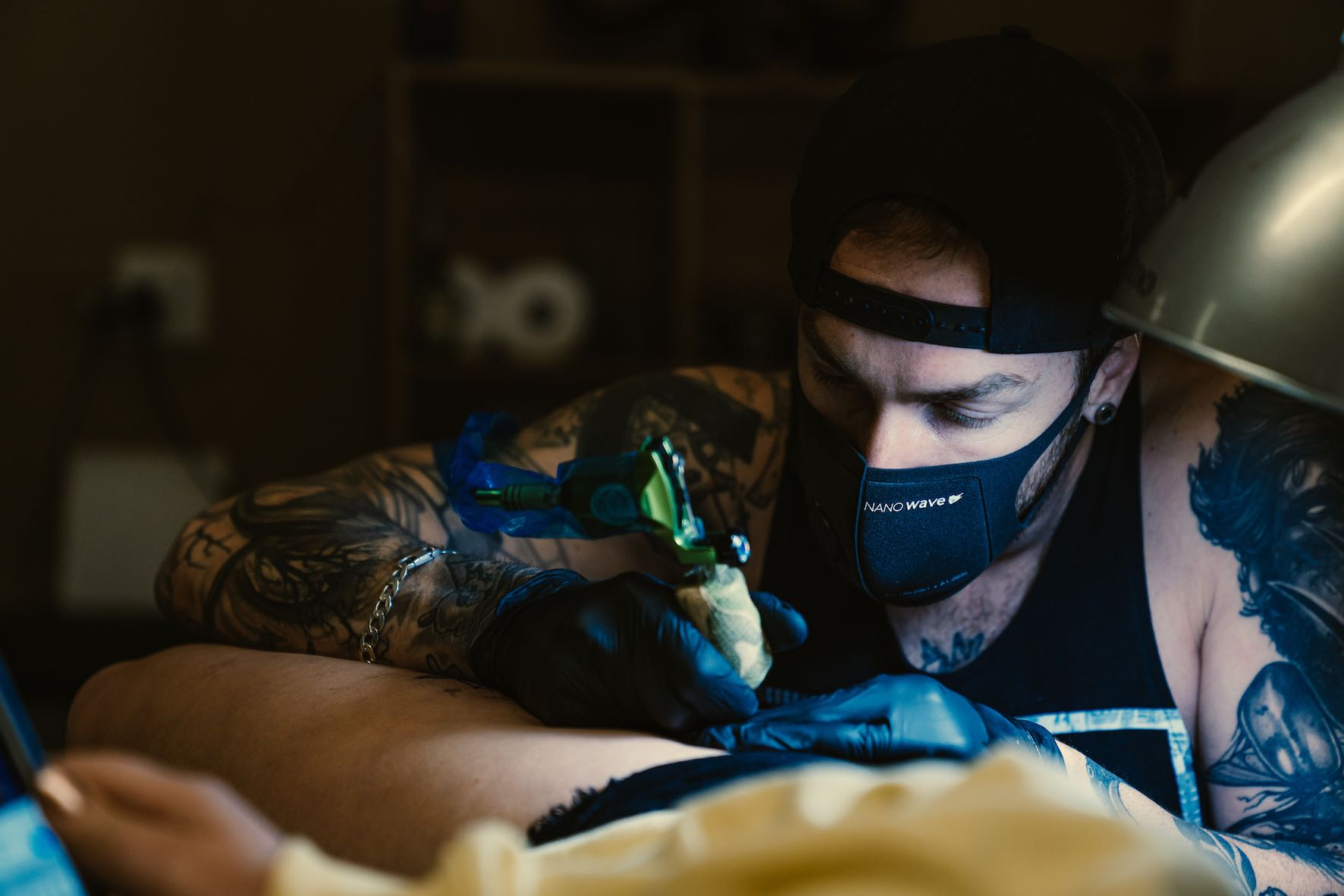 Interview with Lloyd John about being a tattoo artist