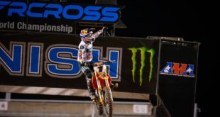 Take a look at the 250 and 450 main event highlights from Round 12 of the 2020 Monster Energy Supercross from Salt Lake City.