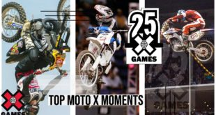 Since 1995 X Games has been the worldwide leader in Action Sports, and in celebration of 25 Years of X we bring you the Top Moto X Moments.