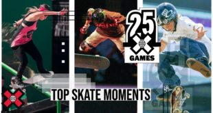 Since 1995 X Games has been the worldwide leader in Action Sports, and in celebration of 25 Years of X we bring you the Top Skateboarding Moments.