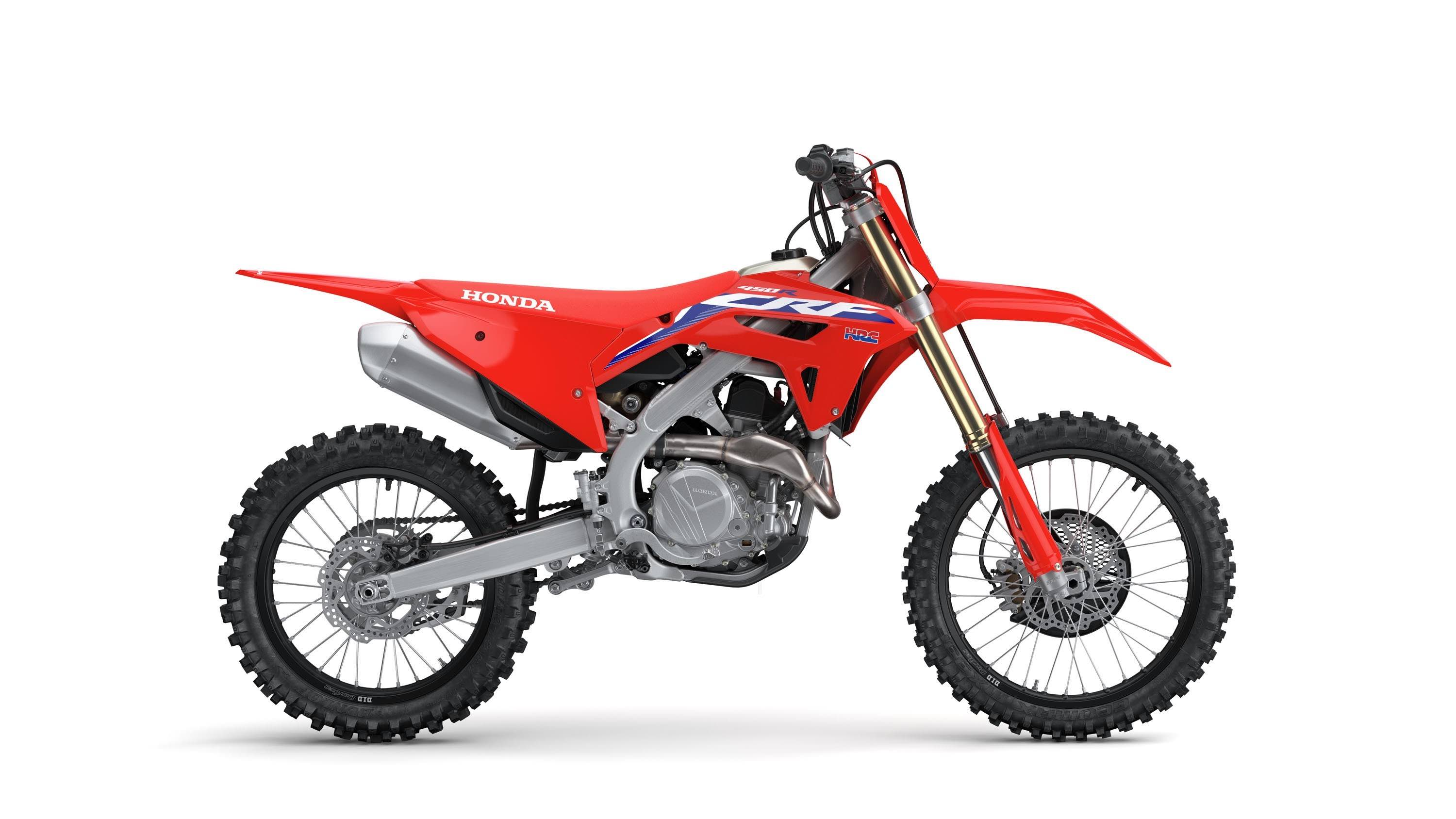 Introducing the all-new 2021 Honda CRF450R dirt bike