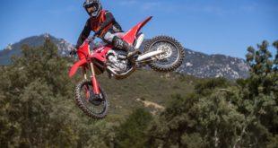 Introducing the all-new 2021 Honda CRF450R motocross bike