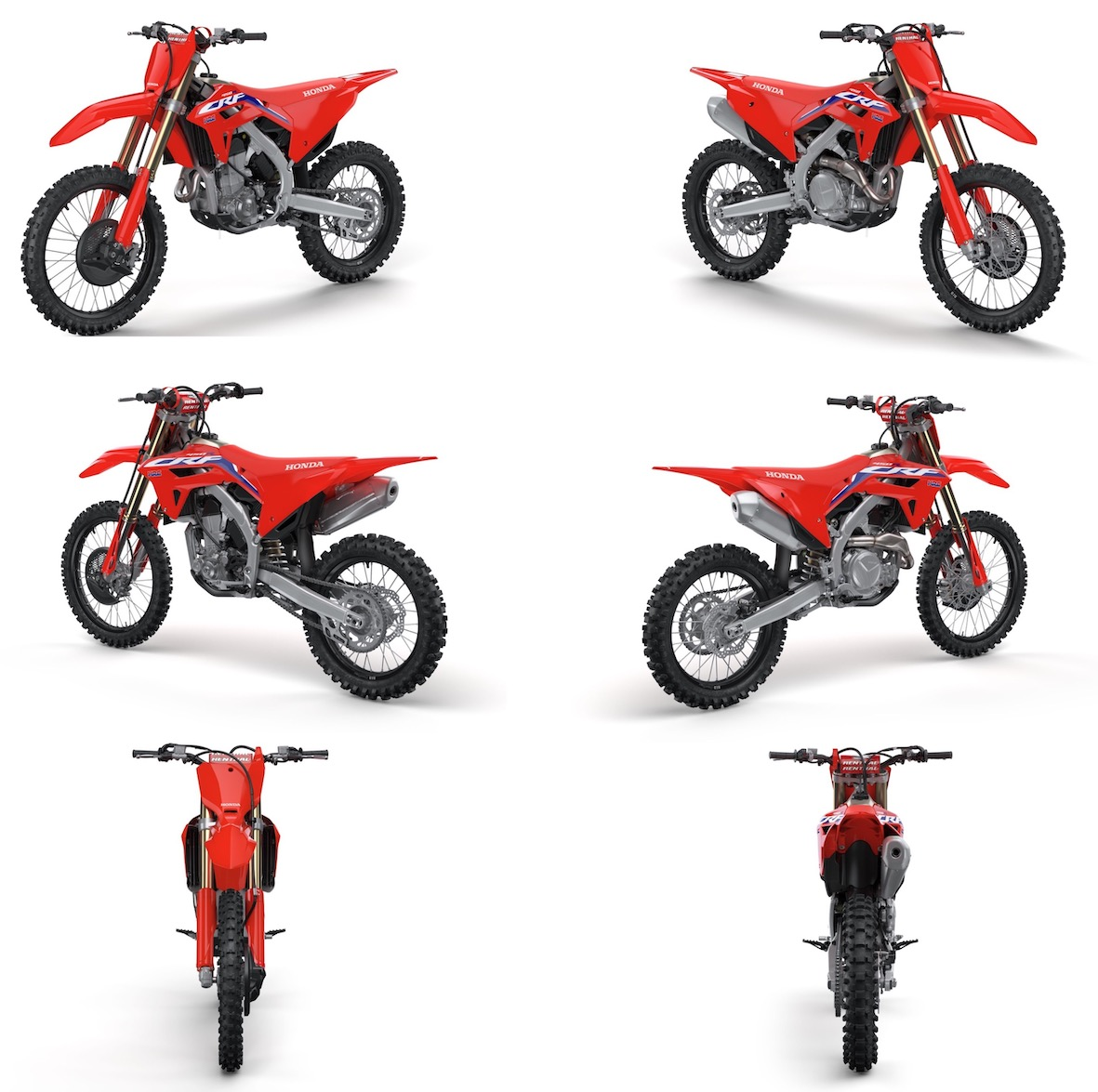 First look at the 2021 Honda CRF450R motocross bike