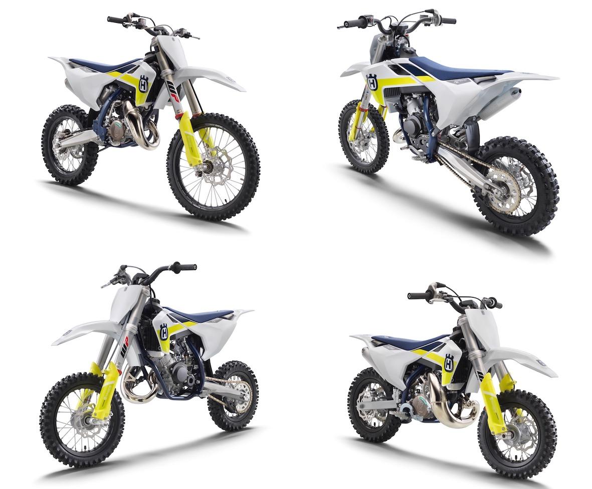 The 2021 Husqvarna Minicycles Motocross Range