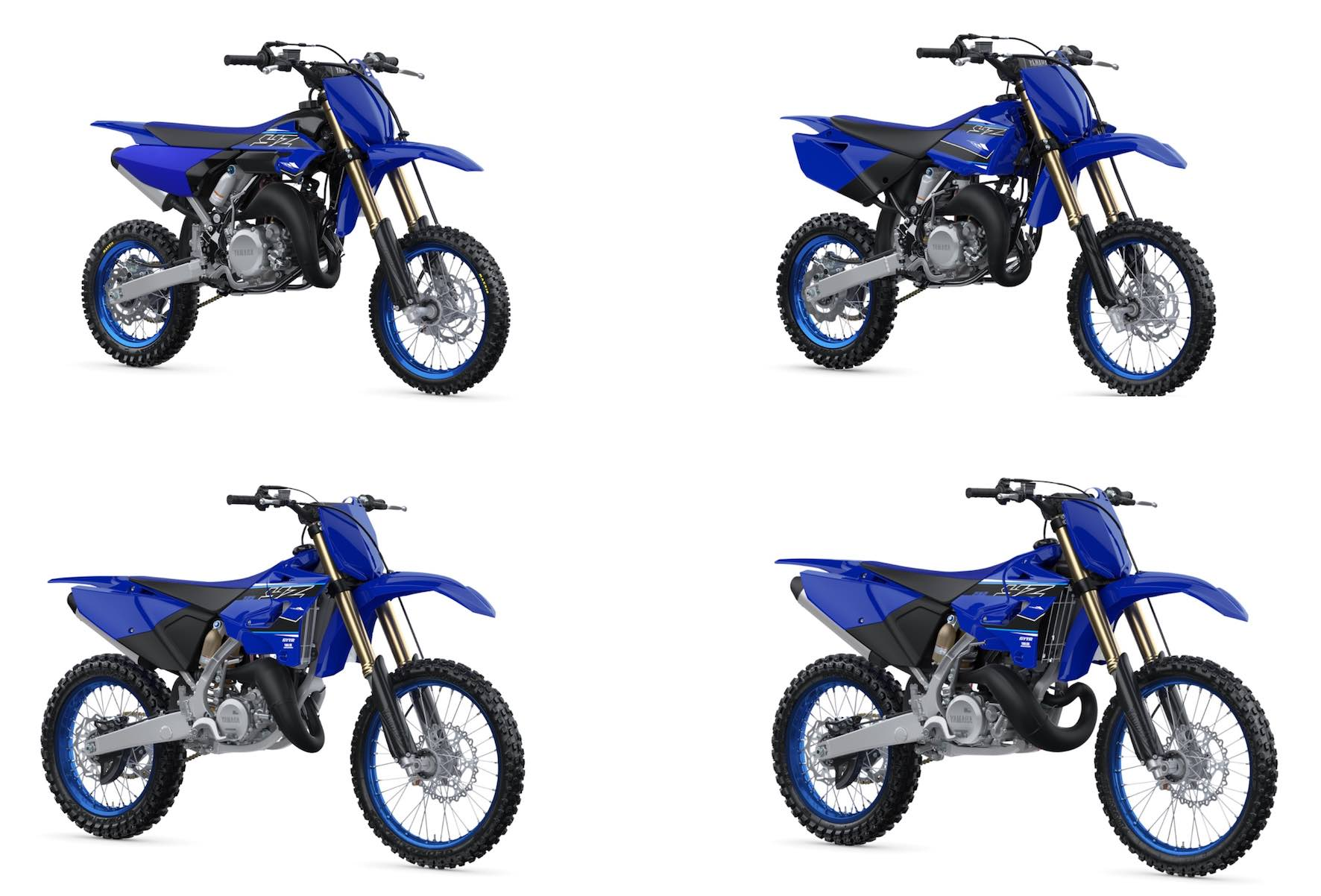 The 2021 Yamaha YZ 2-Stroke motocross competition line-up