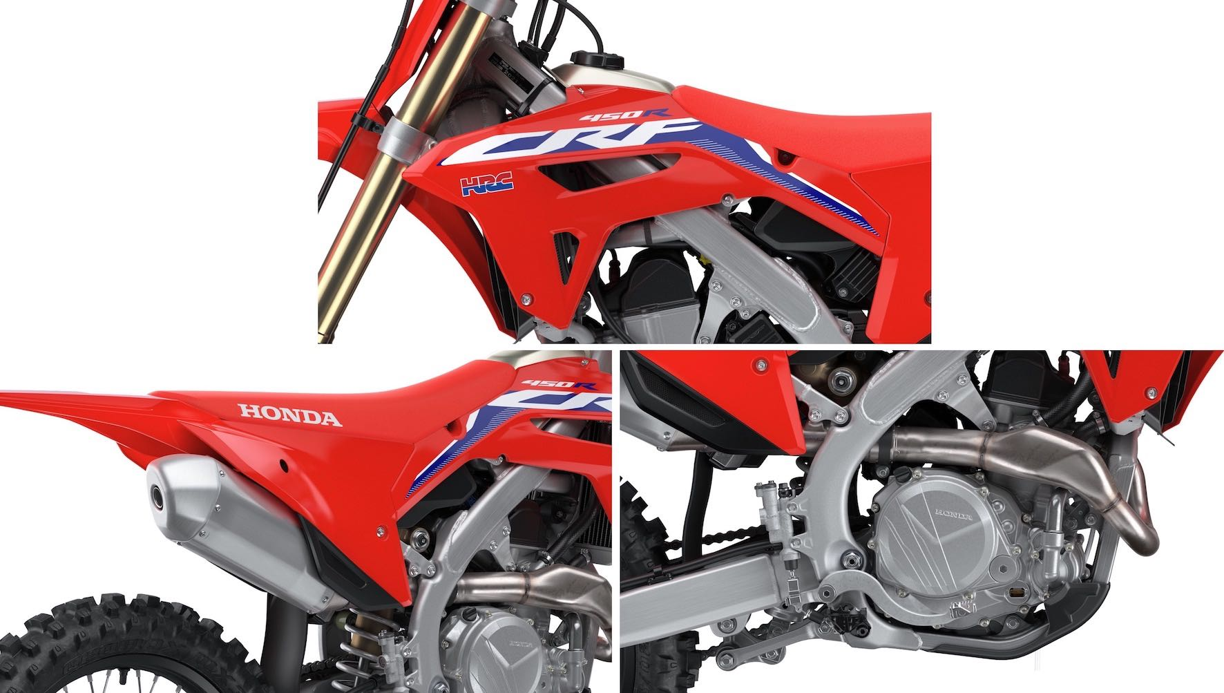 2021 Honda CRF450R Ket Features