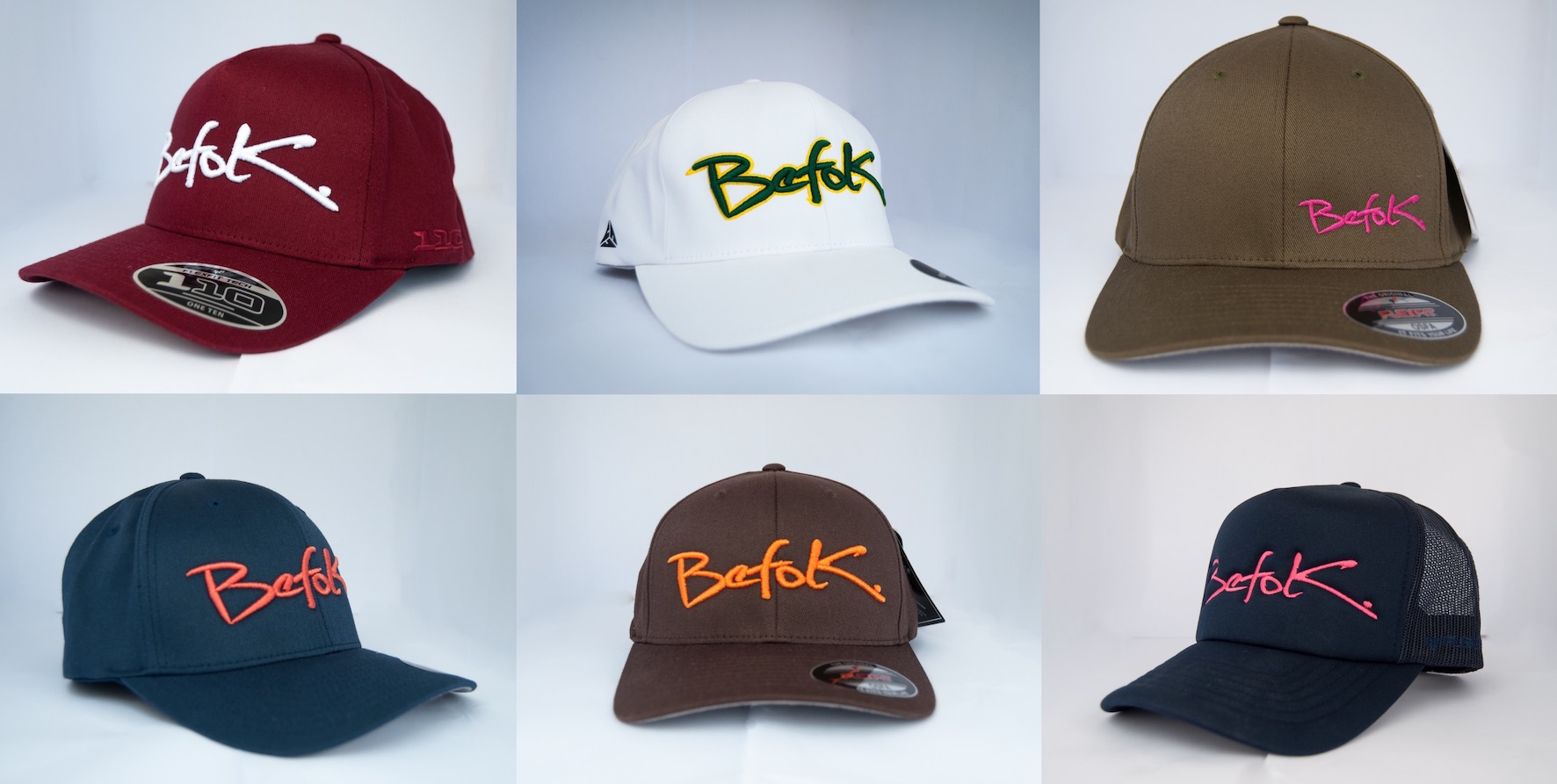 The BEFOK Caps selection