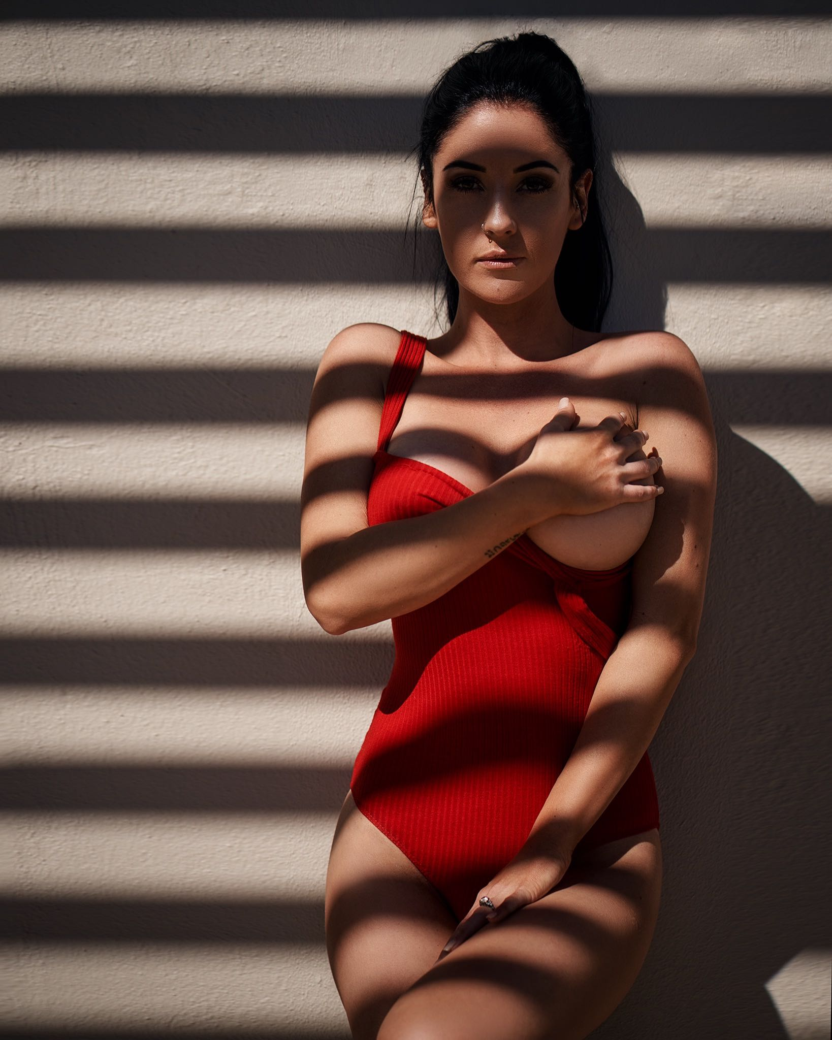 Swimsuit model, Christelle du Plessis features as this week's LW Babe