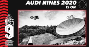 The Audi Nines Freeride and Slopestyle Mountain Bike event presentedby Falken in partnership with Bikepark Idarkopf, will return to the Ellweiler quarry inGermany from7 to 12 September 2020.
