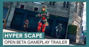 Ubisoft hasannounced the Hyper Scape Open Beta for all PC Players available immediately worldwide. Watch the Cinematic and Open Beta Gameplay Trailer here.