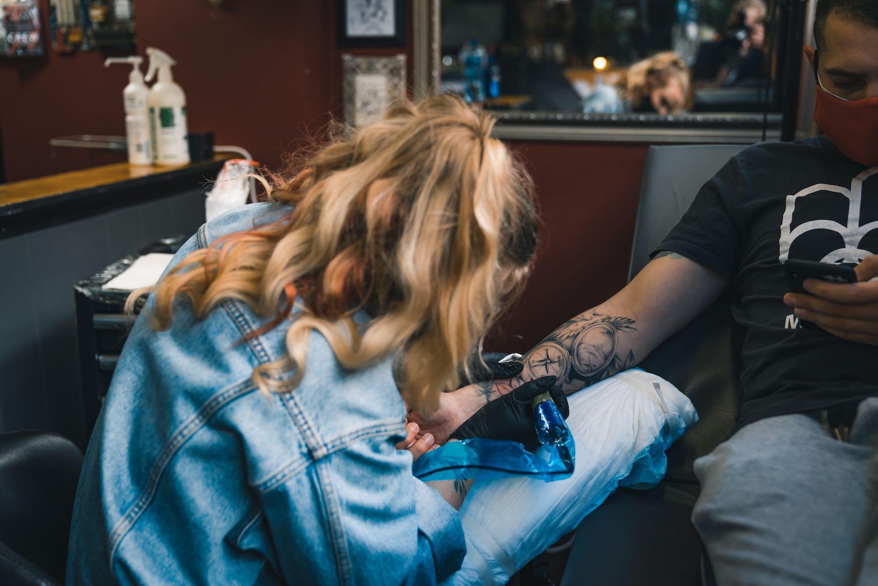Meet Megan Fourie as our Featured Tattoo Artist
