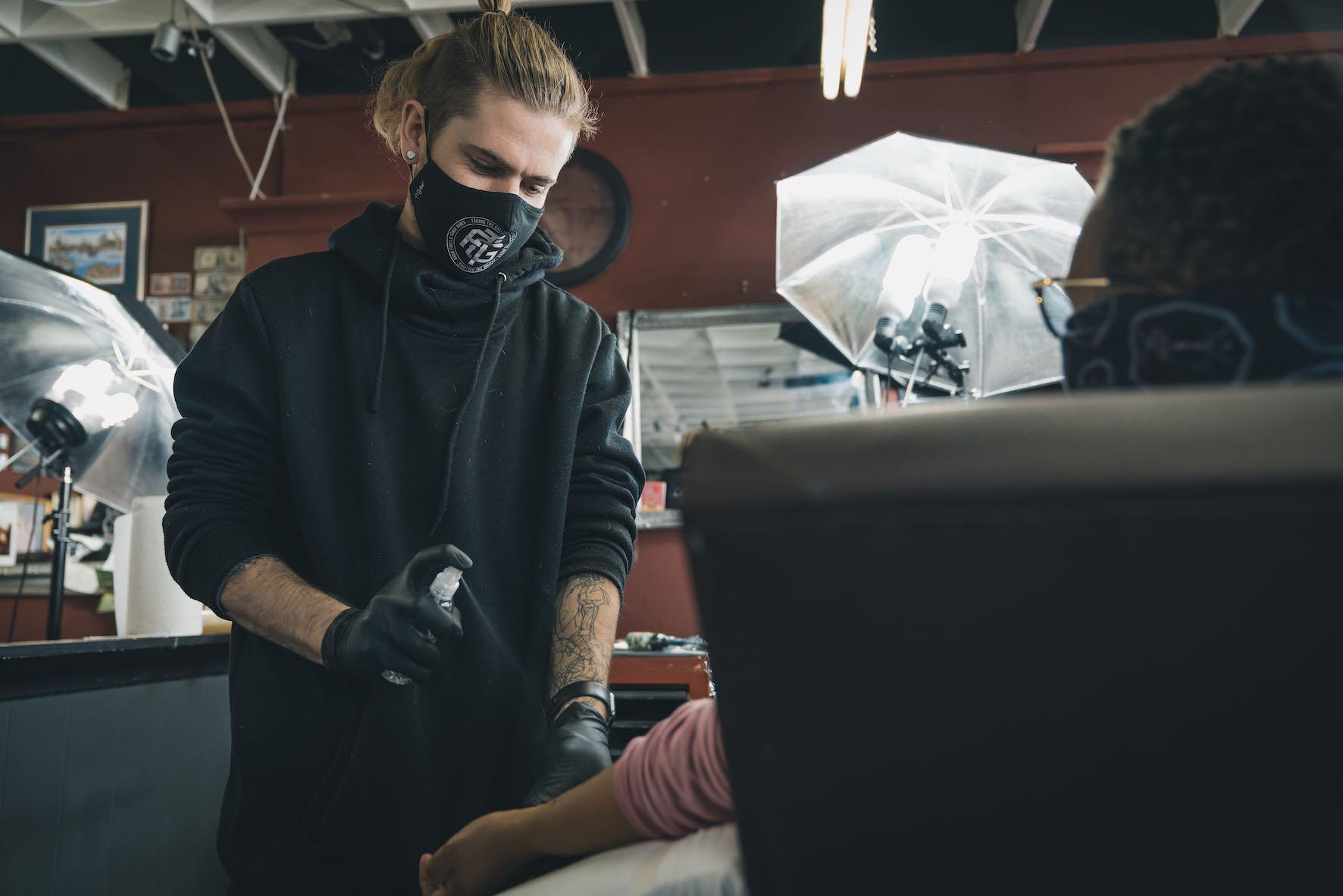 Interview with Tattoo Artist, Nathan Ferreira
