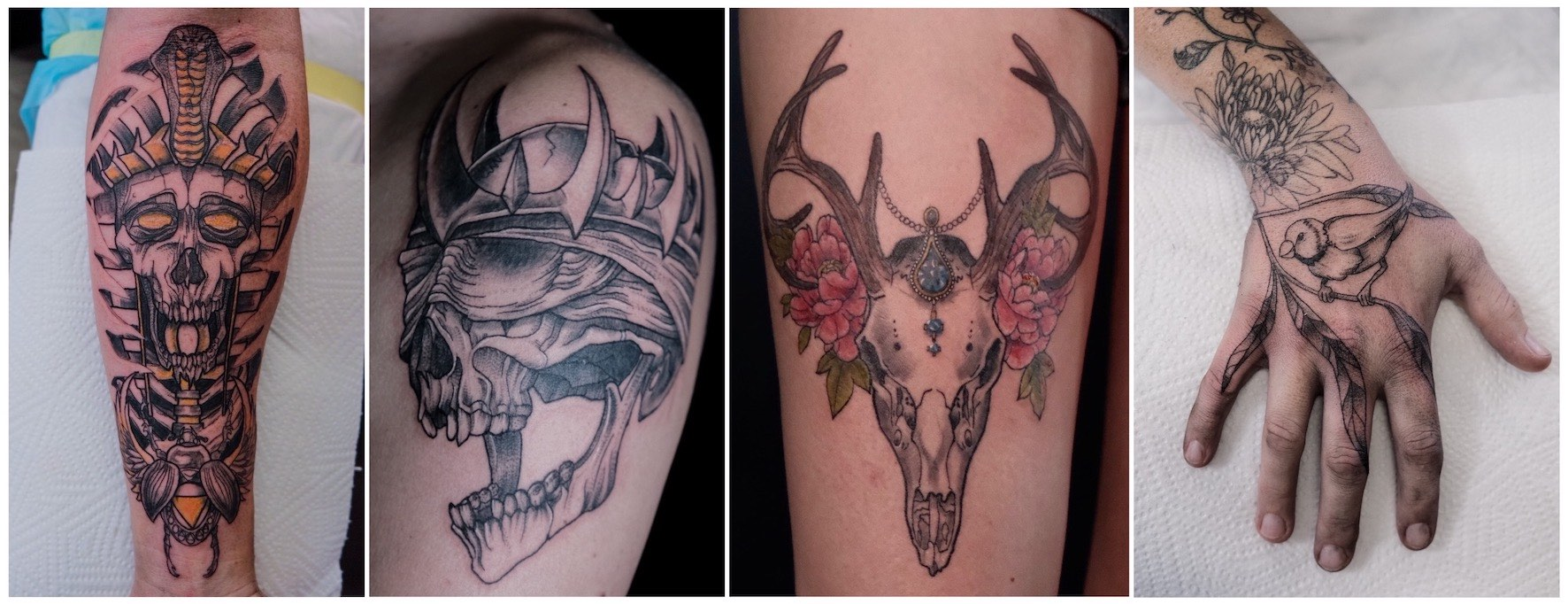 Tattoos by Nathan Ferreira