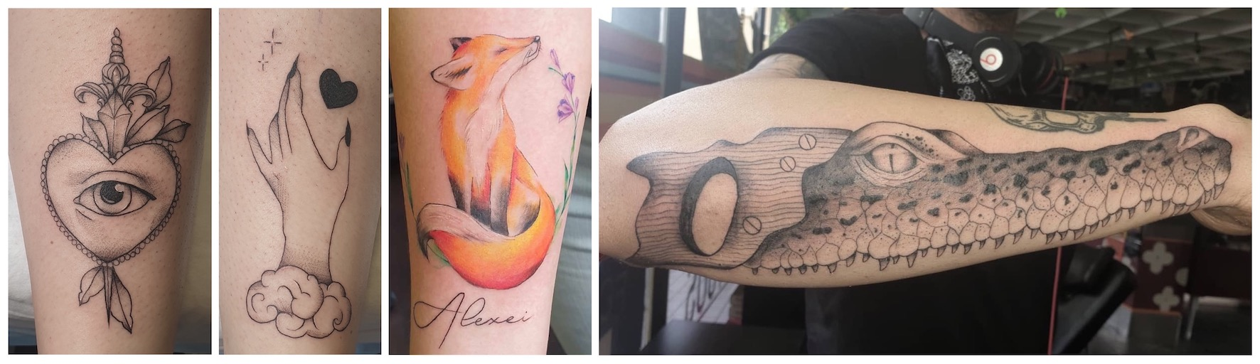 Tattoo work done by Megan Fourie