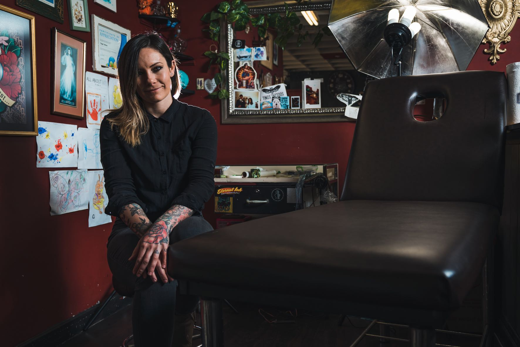 Meet Ting Thorne as our featured Tattoo Artist