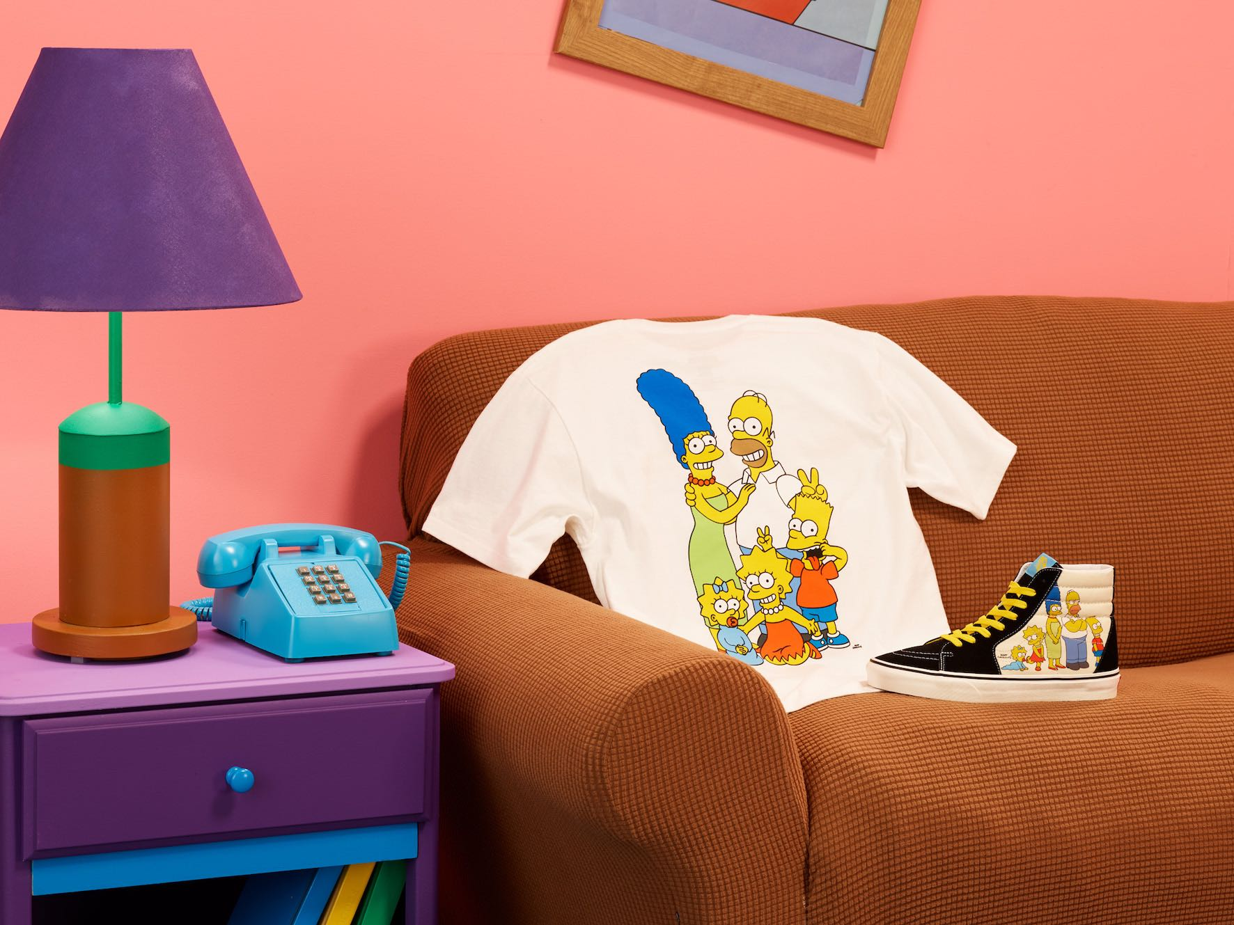 The Vans x Simpsons collection of footwear, apparel and accessories celebrates iconic moments from the historic series.