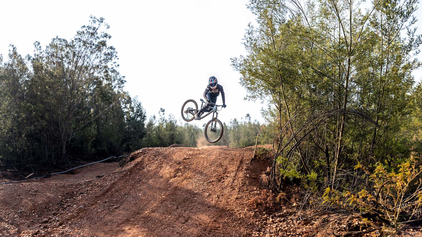 Downhill MTB action with Rory Kirk in Alternate Playgrounds