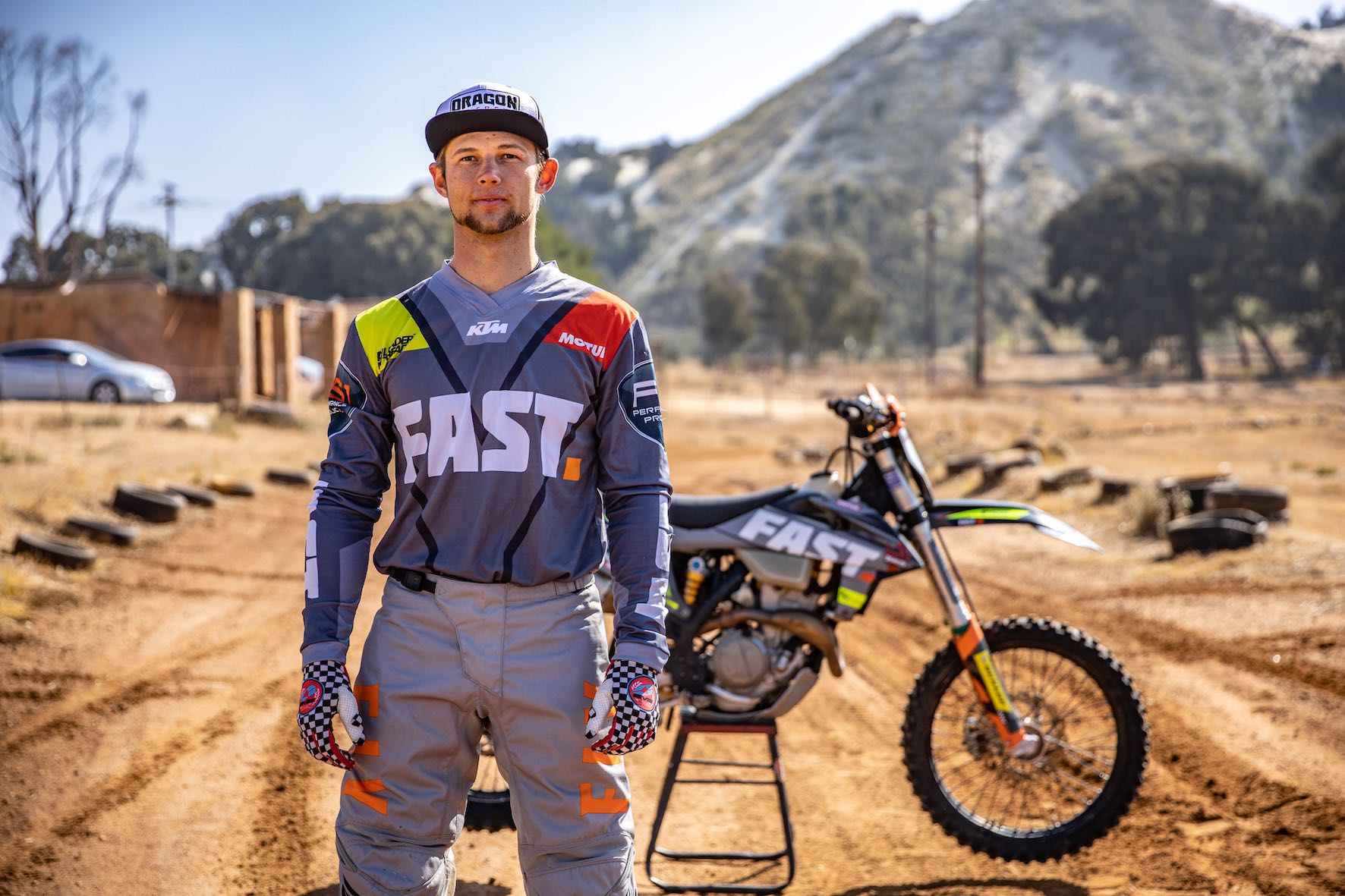 Interview with Ian Rall about dirt bike racing