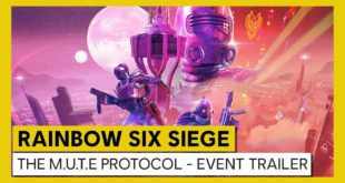 A new limited-time event for Tom Clancy's Rainbow Six Siege - M.U.T.E. Protocol - starts on 4 August and runs until 17 August.  The event brings a fresh new take on the Secure Area game mode, based in a futuristic version of the Tower map.