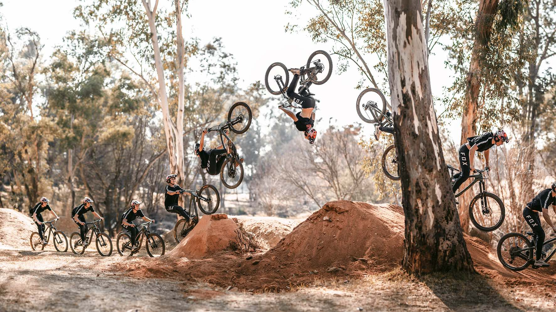 Alternate Playgrounds with Rory Kirk, backflipping his Mountain Bike
