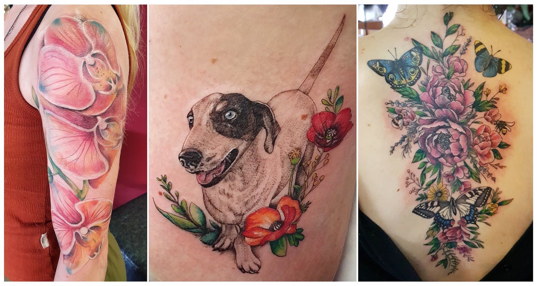 Tattoo work done by Ting Thorne