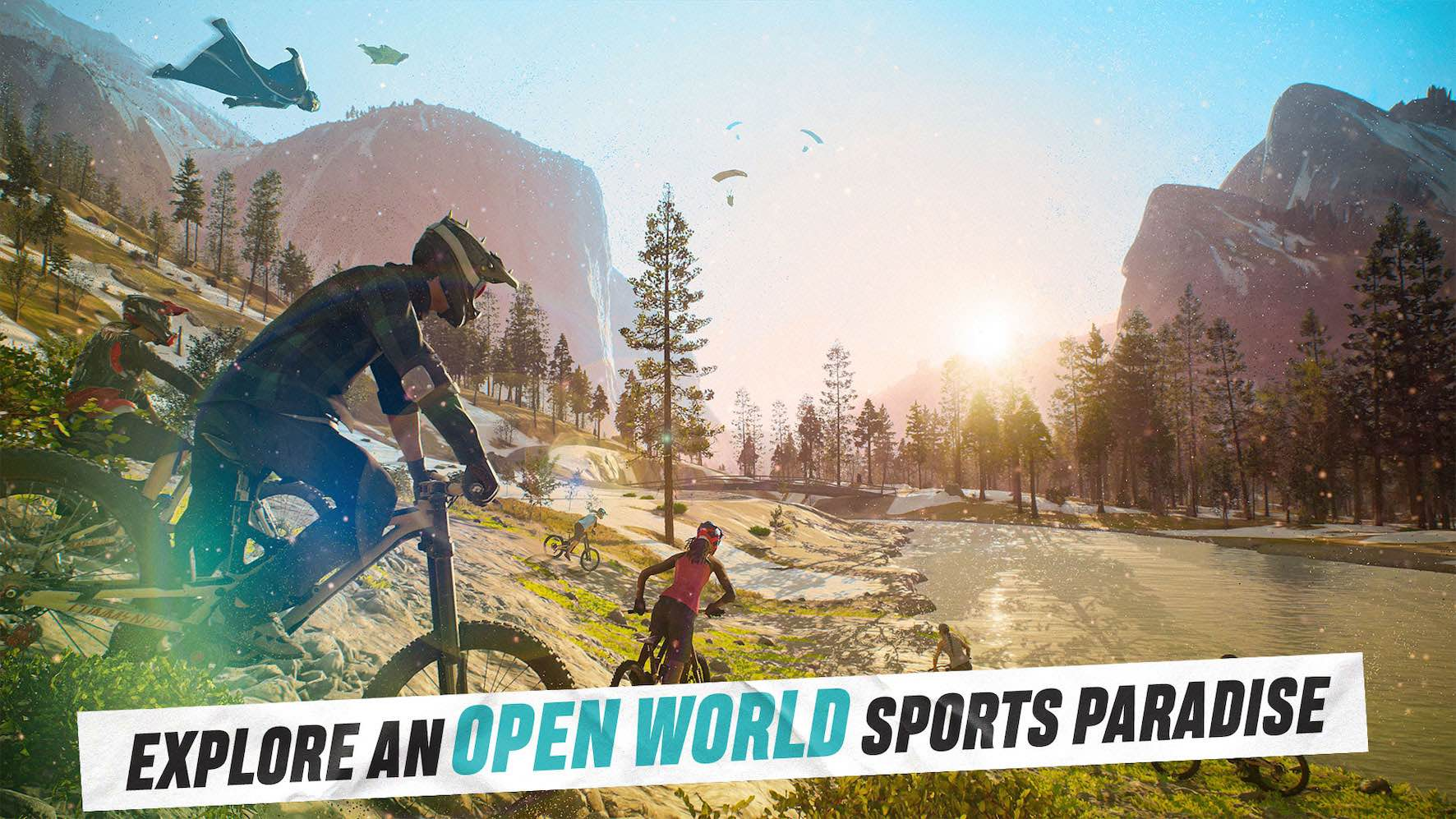 First look at the Riders Republic Extreme Sports Game