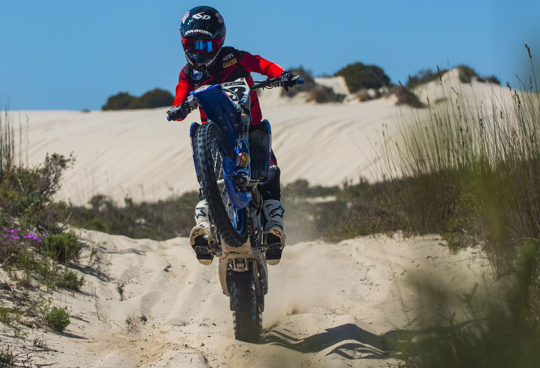 Motocross video feature with Anthony Raynard