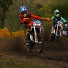 Kade van Deventer racing in the Motocross Nationals at Thunder Valley