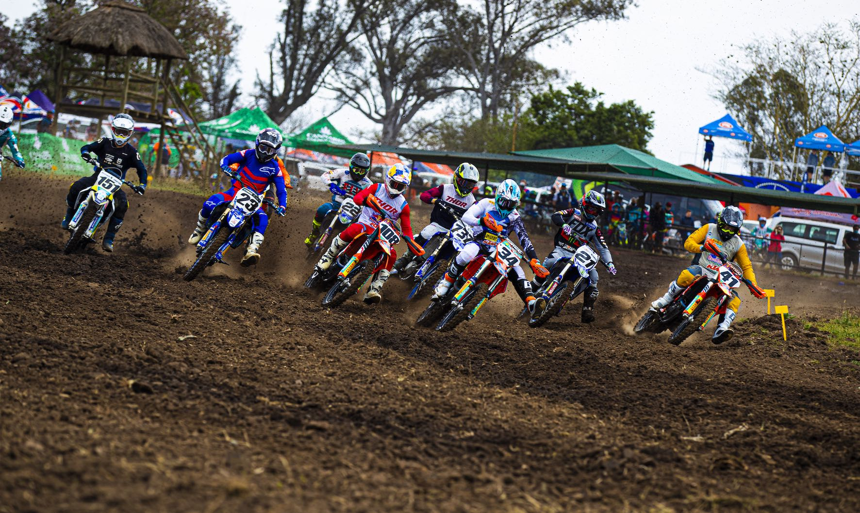 Race report from Rounds 2 and 3 of the 2020 South African National Motocross Championship from Thunder Valley