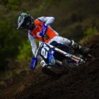 David Goosen racing in the Motocross Nationals at Thunder Valley