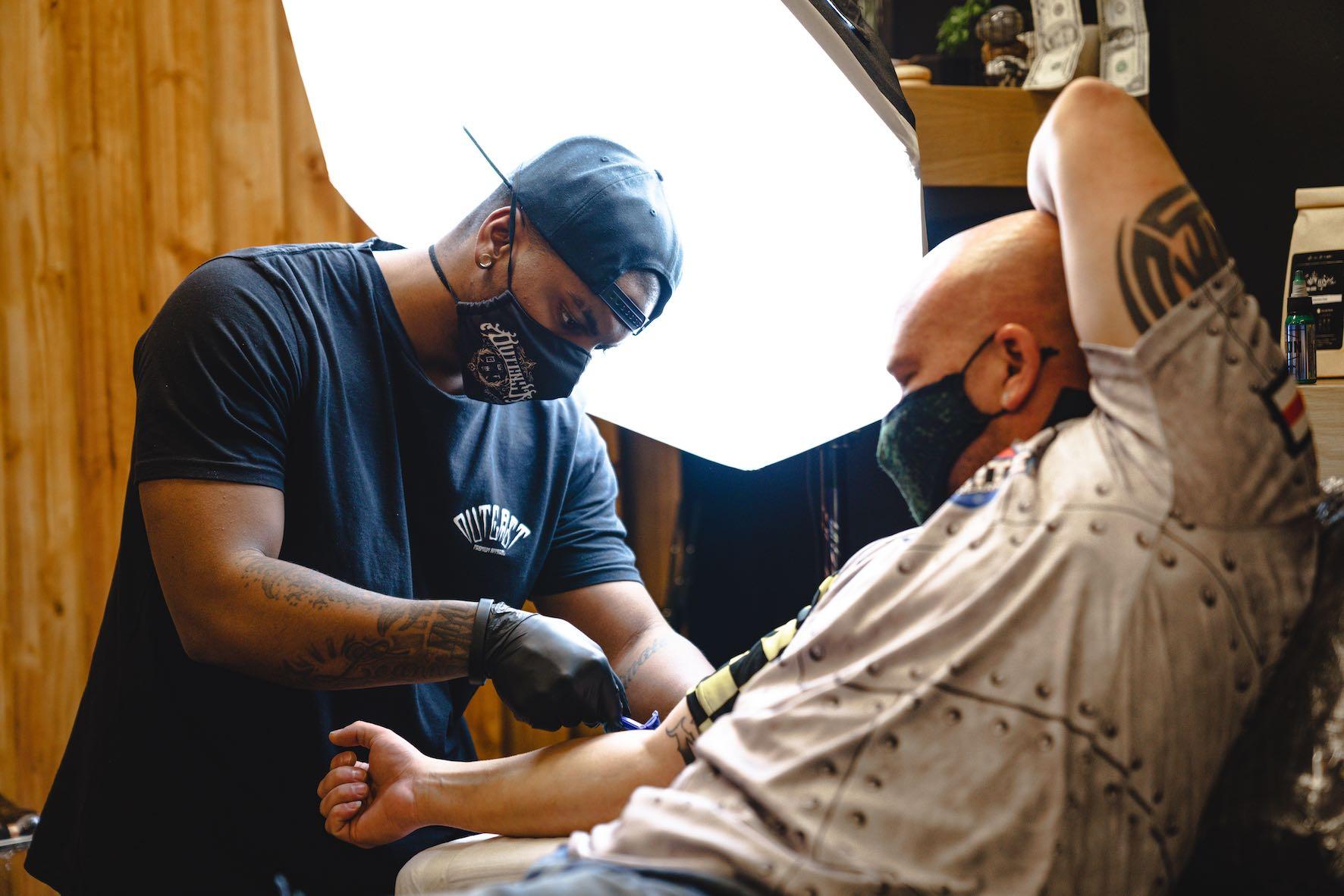 Interview with Tattoo Artist, Larnelle Pienaar