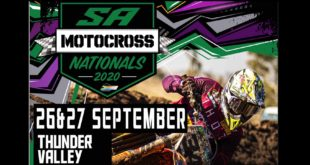 The 2020 South African National Motocross Championship returns to action for Rounds 2 and 3 at Thunder Valley in Pietermaritzburg.