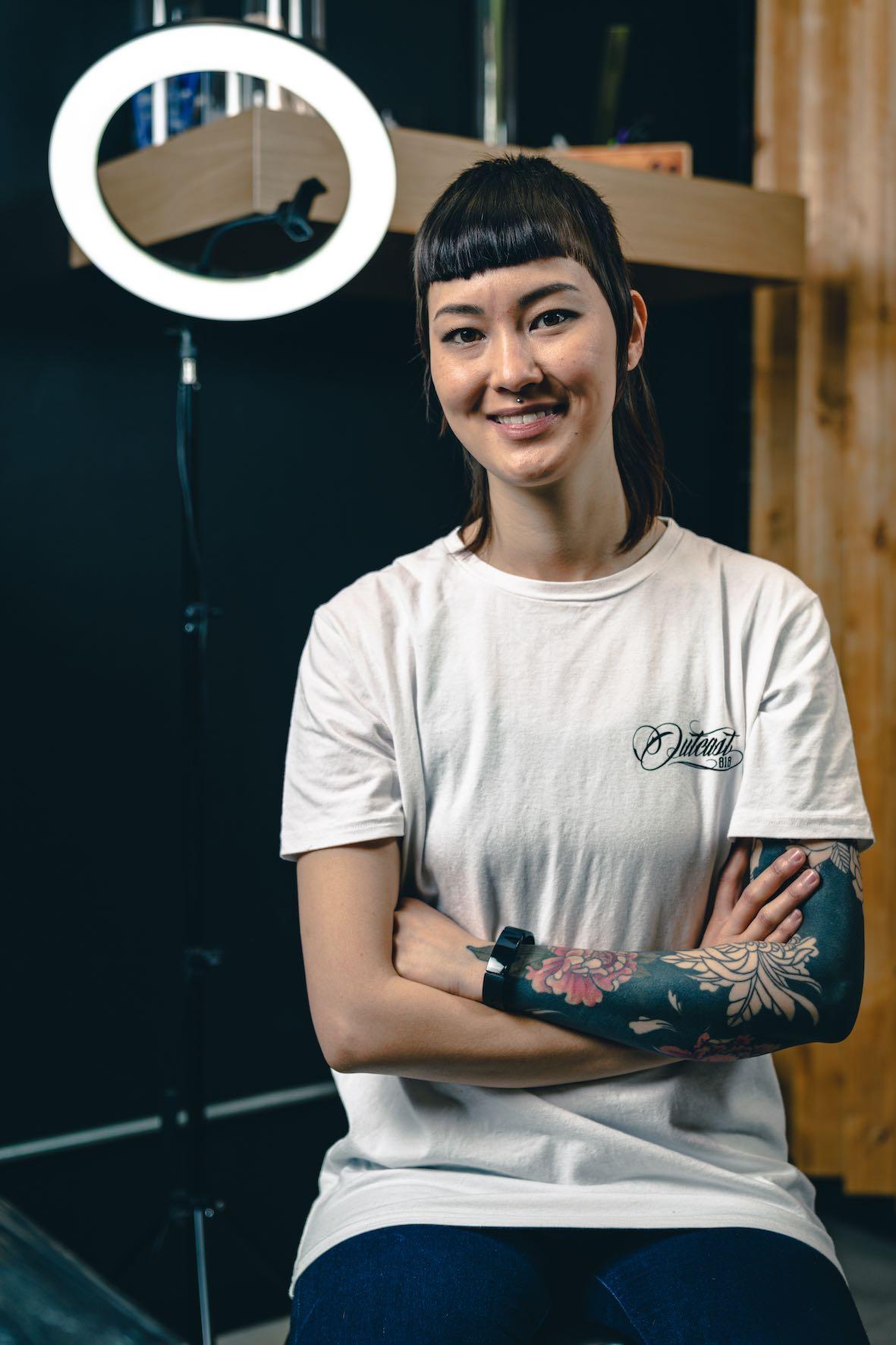 Meet Romi Ding as our featured Tattoo Artist