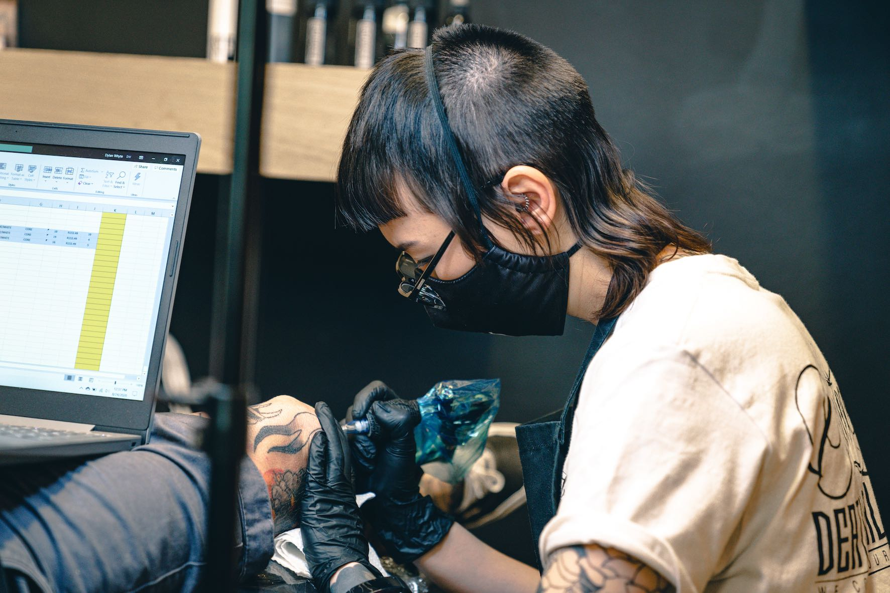 Talking tattoos with Romi Ding