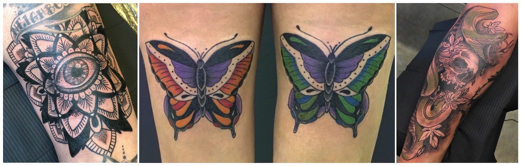 Tattoos done by Romi Ding
