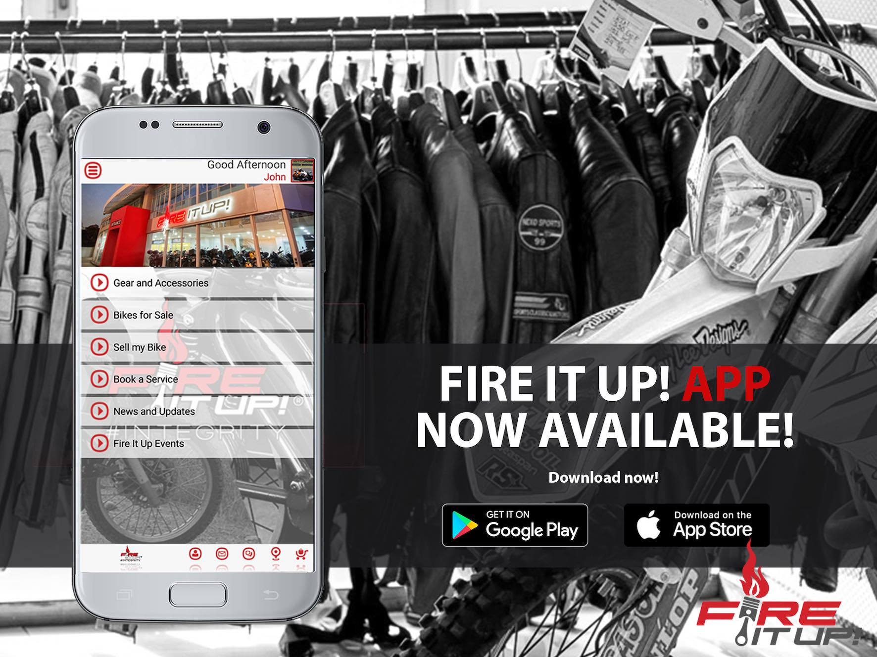 Fire It Up motorcycles launch their APP
