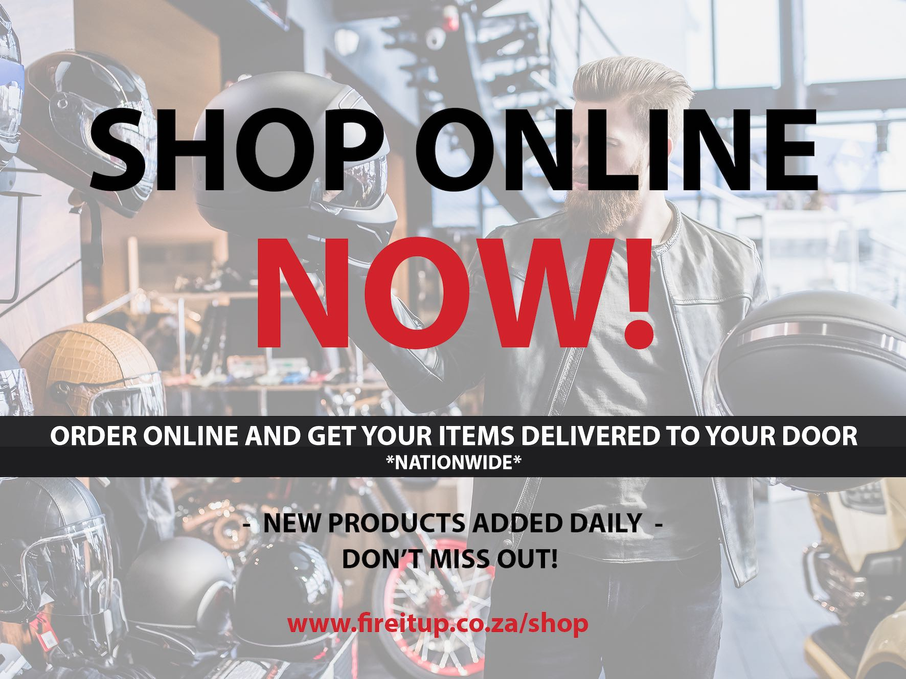 Fire It Up motorcycles launch their online store