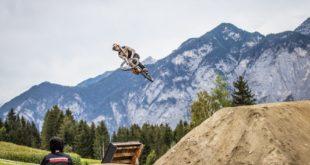 Emil Johansson winning the 2020 Crankworx Innsbruck Slopestyle MTB Contest
