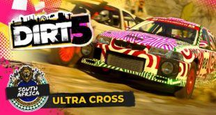 Taking inspiration from arena-based action in previous DIRT games, South Africa's Cape Town Stadium makes its debut in DIRT 5, and is the perfect setting for close racing with jumps, crossover and a roaring crowd.
