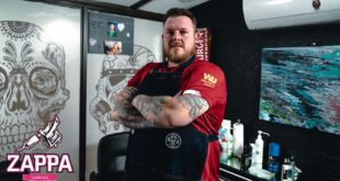 From an early passion and being self-taught to a full time artist and shop owner, Brad Pretorius is our featured Tattoo Artist.