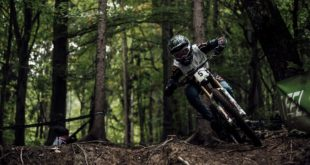 Loris Vergier racing Round 2 of the 2020 UCI Downhill MTN World Cup